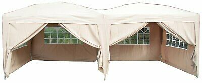 COVER ONLY - Airwave 6x3mtr FULLY WATERPROOF Pop Up Gazebo  BEIGE NEW COVER ONLY