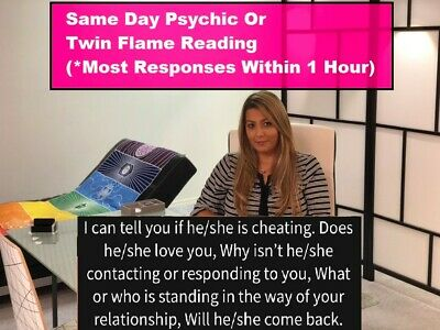 Same Day (Within 1 Hour) 10 min Psychic Phone or Chat Reading $19.99