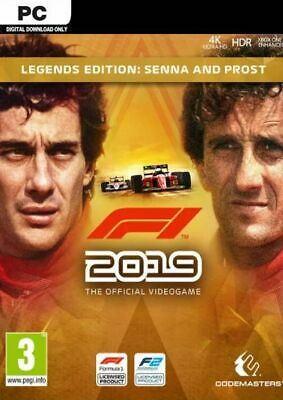 F1 2019 LEGENDS EDITION SENNA & PROST + 32 Bonus Games | Steam | Offline (PC)