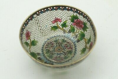 Rare! Fine Quality Antique Chinese See Through Cloisonne Bowl or Vase