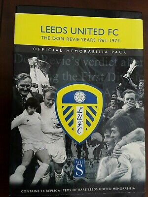 Leeds United Fc The Don Revie Years 1961 - 1974 Official Memorabilia Pack