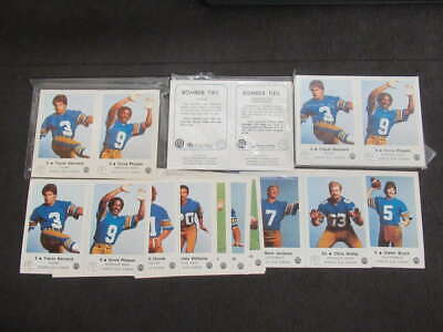 (4) 1982 Cfl Winnipeg Blue Bombers Police Complete Set 1-24 Uncut Lot Ml193