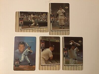 Mickey Mantle 1994 Upper Deck Prepaid Phone Card 5 Different Yankees Baseball