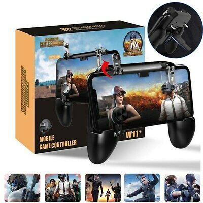 W11+ PUBG Mobile Phone Gamepad Controller Joystick Wireless for iPhone Android E