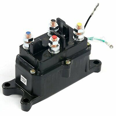 reversing solenoid contactor for relay switch prestolite winch motor warn  67-792
