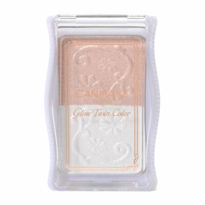 CANMAKE Glow Twin Color 05 Pink Beige Pearl 3.5g From Japan
