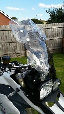 BMW F650-F800 GS 2008-2017 TALLER AND WIDER SCREEN MADE IN THE UK .