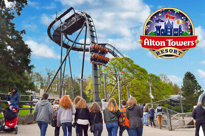 Alton Towers Resort Tickets | Wednesday 24 July 24/07/2019 | E Tickets