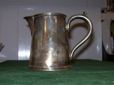 Vintage Silver Plated Milk Jug-Elkington Plate for 'J.Lyons & Co.Ltd.'-3/4 Pt.