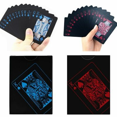 2 Decks Of Waterproof Poker Cards Plastic PVC Playing Cards Perfect For Party