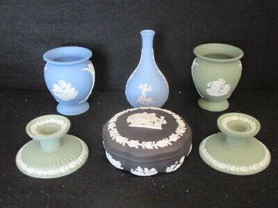 Wedgwood Jasper Set Of 6 Pieces, Assorted Colours 1St