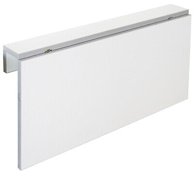 Mesa cocina plegable color blanco Vera moderno abatible funcional pared 80x10-50