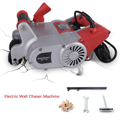 1.1kw 220V 50Hz Cutting Electric Wall Chaser Notcher Groove Cutting Machine