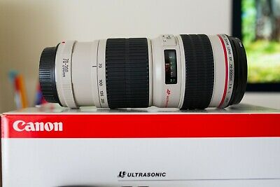 NUOVO Canon EF 70-200mm f/4 L USM Tele Zoom Lens
