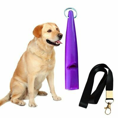 Professional Dog Training Whistle with Lanyard Silent Sound Pitch High Quality