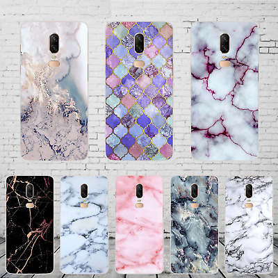 Wood Print Marble Soft Silicone Phone Case Cover for  Oneplus 7 6T 6 5T 5 3 3T