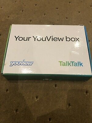 TalkTalk YouView Set Top Box Freeview Huawei DN360T Remote Cables Power * NEW *