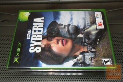 Syberia (Xbox 2003) FACTORY SEALED!
