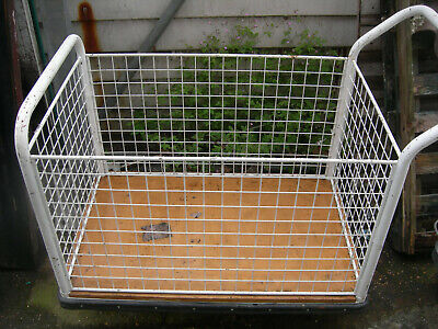 Trolley wagon Supermarket Shopping trolley warehouse picking cage trolley