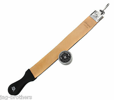 Leather Strop 4 Professionals Best 4 Knife,Razors,Sharpening Tools with Paste