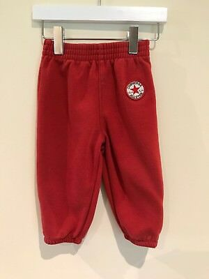 Converse All Star  Boys Red Trackies/ Joggers Age 12 Months