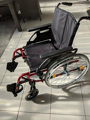Breezy Basix 2 lightweight wheelchair