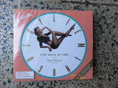 Kylie Minogue - Step Back In Time. Definitive Collection 2 Cd. New. Freepost.