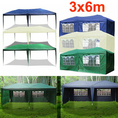 Heavy Duty Gazebo Marquee Canopy Waterproof Wedding Party Tent 3Mx3M/3Mx4M/3Mx6M