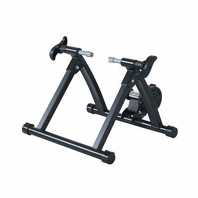 olding Indoor Magnetic Bike Trainer Bicycle Stand Workout Exercise Steel Black