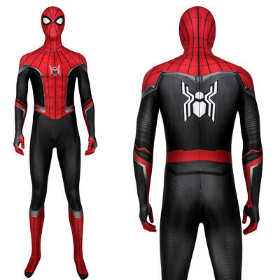 Spider-Man Far From Home Peter Parker Zentai Cosplay Costume Suit Sipderman Suit