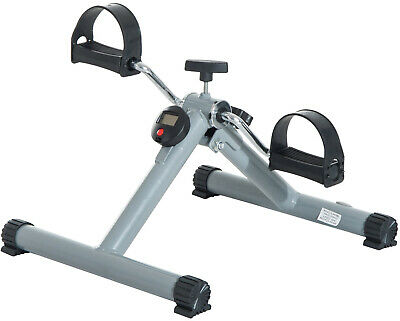 Cardio Mini Cycle Arm Leg Exercise Pedal Bike LCD Display Gym Workout Trainer