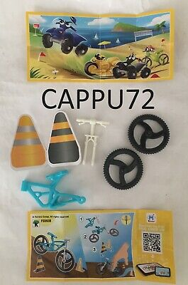 Bicicletta Celeste+Bpz Fs593B -Kinder Joy Ice Cream 2019