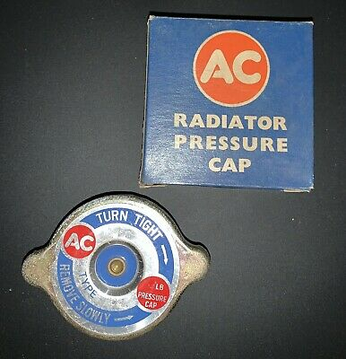 GENUINE NOS AC DELCO RC4 RADIATOR FILLER / 4Lbs PRESSURE CAP CLASSIC CAR PART