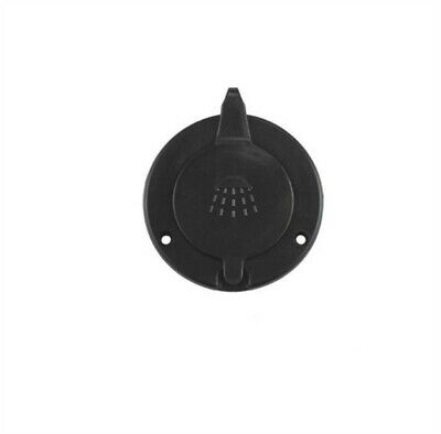 Scandvik 10262P Black Replacement Cap And Cup For Horizontally Mounted Showers
