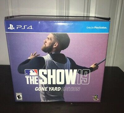MLB The Show 19 Gone Yard Edition PS4 * NEW * Sealed