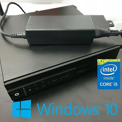Dell OptiPlex 3020M Micro i5 Quad Core 16GB RAM SAMSUNG 860 EVO 250GB Windows 10