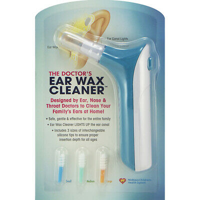The Doctor's EAR WAX CLEANER / REMOVER w/ Powerful Light EFFECTIVE & SAFEST WAY