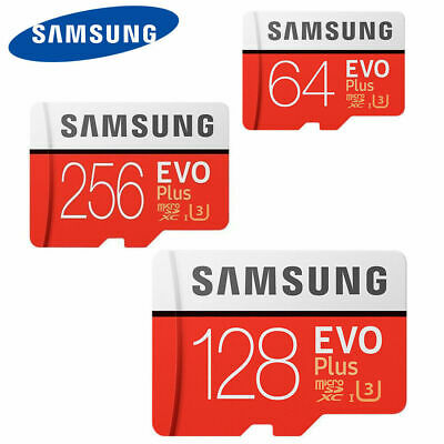 Micro SD Card SamSung Evo Plus 64GB,128GB,256GB Class 10 SDHC SDXC Memory Card