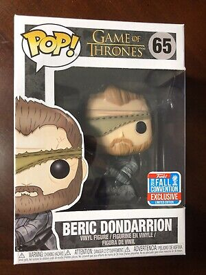 Funko Pop! Beric Dondarrion NYCC Fall Convention Exclusive Game Of Thrones GoT