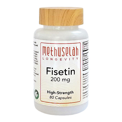 High Strength Fisetin 250mg (99%) Senolytic