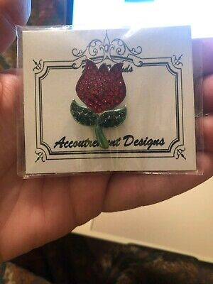 Accoutrement Designs Needle Minder For Needlepoint TULIP
