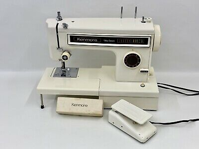 Sears Kenmore 158.1340281 Ultra Stitch 6 Sewing Machine W/ Pedal Works Great