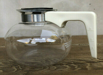Vintage Pyrex Glass Brewmatic 10-Cup Replacement Coffee Decanter Carafe Pot