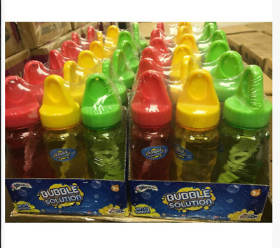 Choose 1 to 36 x Bottles of BUBBLES with WAND Wholesale Bulk Buy Party Bag Toy