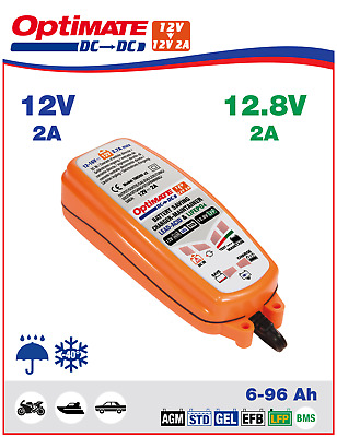 OptiMATE DC to DC 12V to 12V/12.8V 2A Battery Saving Charger TM500
