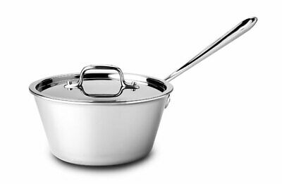 All-Clad Tri-ply Stainless Steel 2.5-qt Windsor Pan with lid