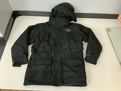 North Face Boys 550 Hyvent, Padded, Thich Coat, Jacket Age 10-12, Medium, Black