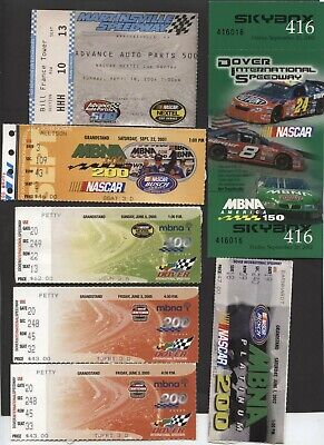Nice Lot Of Nascar Racing Event Ticket Stubs 22 Different See Pics