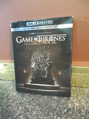 GAME OF THRONES 4k Ultra HD The Complete First Season HBO Tv Series *Free Ship*