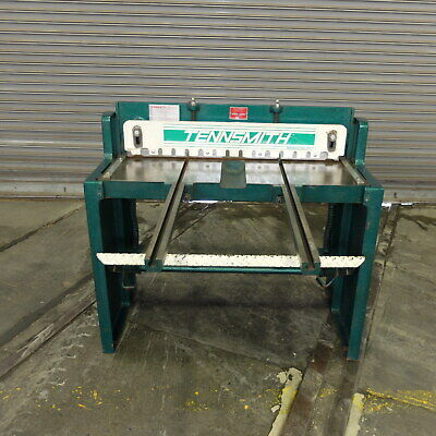 """37"""" Tennsmith Foot Operated Squaring Shear, Model T-36, Excellent"""